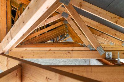 Wood Roof Truss Installation Inspection Reinforcement